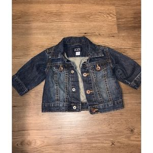 Baby Girl Jean Jacket -Never worm 3-6 months